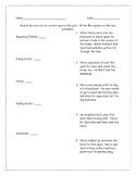 Plot Matching Worksheet