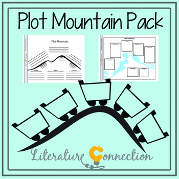 Plot Mountain Graphic Organizers Pack for Story Organizing or Plot Graphing