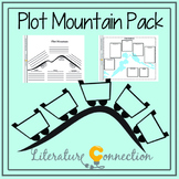 Plot Mountain Graphic Organizers Pack for Story Organizing
