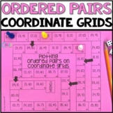 Plot Ordered Pairs on Coordinate Grids Math Board Game