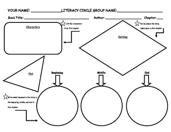 Plot Outline for Literacy Circles or any story