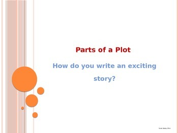 Plot - Part of a Story - PowerPoint Presentation