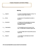 Plot Parts and Point of View Worksheet