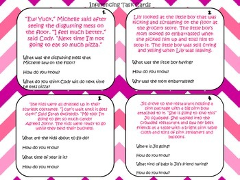 Task Card Bundle: Plot, Point of View, Poetry, Main Idea, and much more!