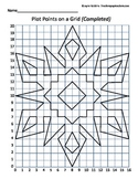 Plot Points on a Grid - Snowflake Coordinates