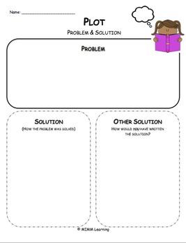 Plot - Problem & Solution Graphic Organizer - Universal