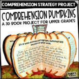 Reading Comprehension 3D Pumpkin Book Project