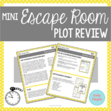 Plot Review Mini Escape Room Activity