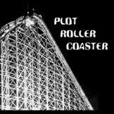 Plot Roller Coaster Guided Notes and Graphic Organizers