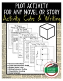 Plot Sequence Activity Research Cube with Writing Extensions (English)
