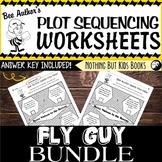 Plot Sequencing Worksheet Discount Bundle  |  Fly Guy
