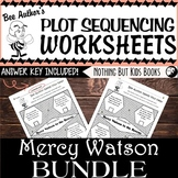 Plot Sequencing Worksheet Discount Bundle  |  Mercy Watson