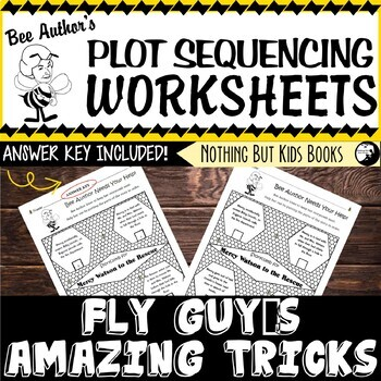 Plot Sequencing Worksheet | Fly Guy's Amazing Tricks
