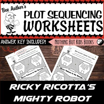 Plot Sequencing Worksheet | Ricky Ricotta #1
