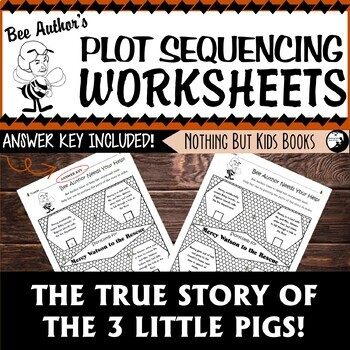 Plot Sequencing Worksheet | The True Story of the 3 Little Pigs