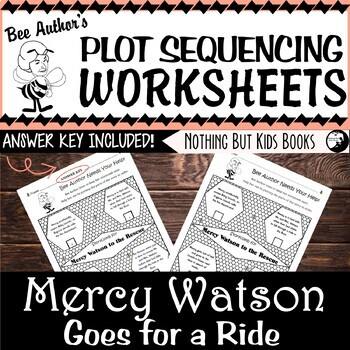 Plot Sequencing Worksheet for Mercy Watson Goes for a Ride