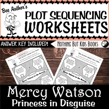 Plot Sequencing Worksheet for Mercy Watson: Princess in Disguise
