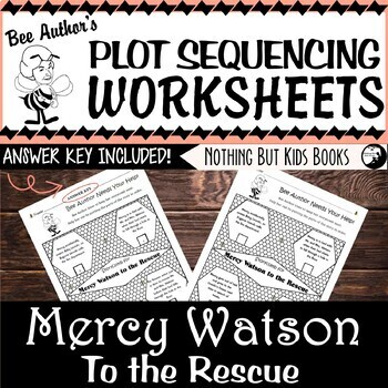 Plot Sequencing Worksheet for Mercy Watson to the Rescue