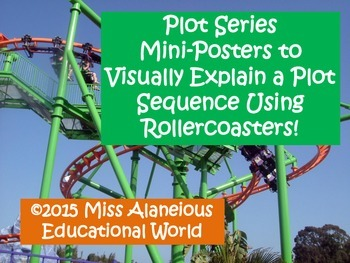 Plot Series: Mini-Posters to Visually Explain Plot Using Rollercoasters!