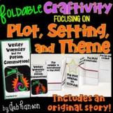Plot, Setting, Theme Foldable Craftivity (with story!)