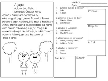 Plot Spanish