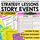 Plot & Story Events - Small Group Reading Lesson Plans and