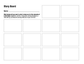 Plot Storyboard