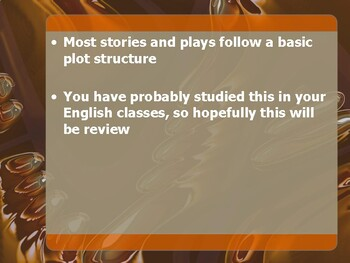 Plot Structure Basics - Theatre I