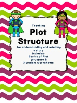 Plot Structure - Blackline Worksheets