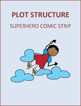 Plot Structure Superhero Comic Strip