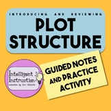 Plot Structure: Two-Sided Scaffolded Notes with Two-Sided