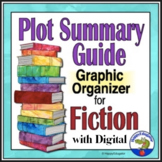 Plot Summary Guide - Fiction Story Elements Graphic Organizer Distance Learning
