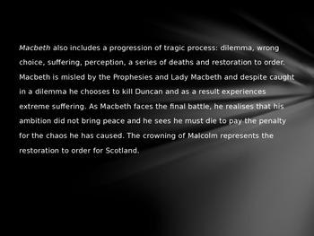 Plot Summary Macbeth