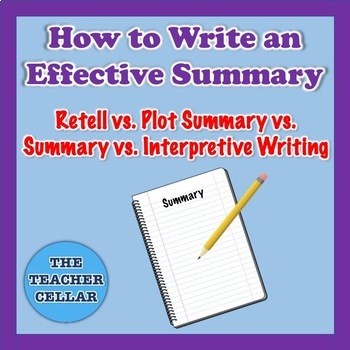How to Write an Effective Plot Summary - Explanation & Samples
