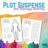 Plot Suspense Art Therapy Activity for ELA