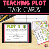 Plot Task Cards | Digital and Printable | Distance Learnin
