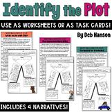 Plot Task Cards or Worksheets
