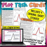 Plot Task Cards or Worksheets