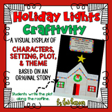 Plot, Theme, Characters, Setting Craftivity (includes original holiday story!)