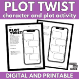 Plot Twist, Character and Plot Activity for ANY Story