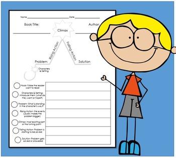 Plot Worksheet- FREEBIE