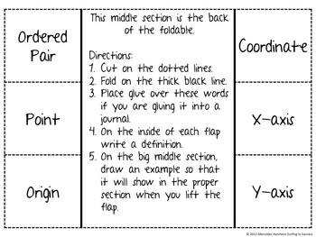 Plot a Point Common Core 5.G.2