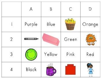 Plot a Word: Colors