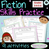 Short Story Plot Activities – Plot Handouts - Distance Learning