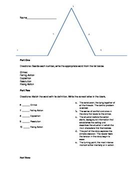 Plot and Conflict Quiz