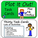 Plot and Conflict - Story Elements Task Cards