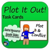Plot and Conflict Task Cards Digital Resource