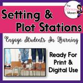 Plot and Setting Stations - Print & Digital