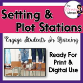 Plot and Setting Stations - Common Core Aligned