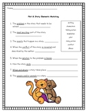 Plot and Story Elements Assessment Worksheet